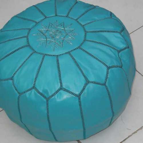 Pouf Kech Turquoise