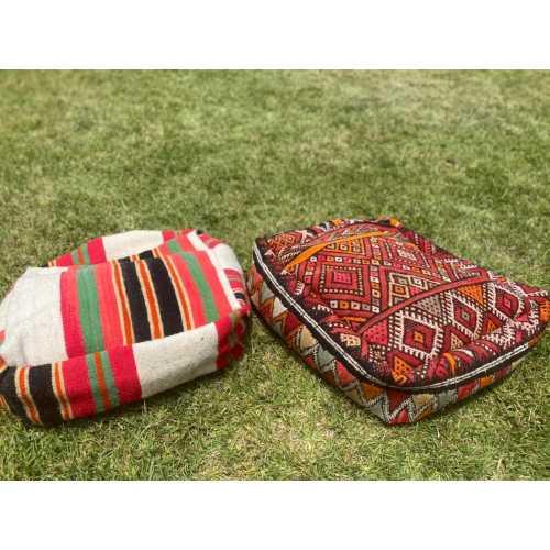 Pouf Vintage Amazigh