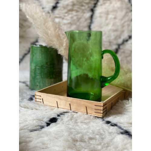 Carafe en Verre beldi – Vert